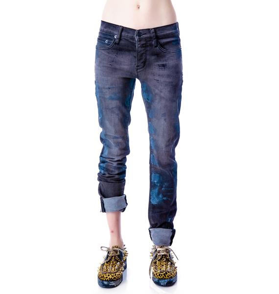 Kill City Paint Stain Junkie Jeans