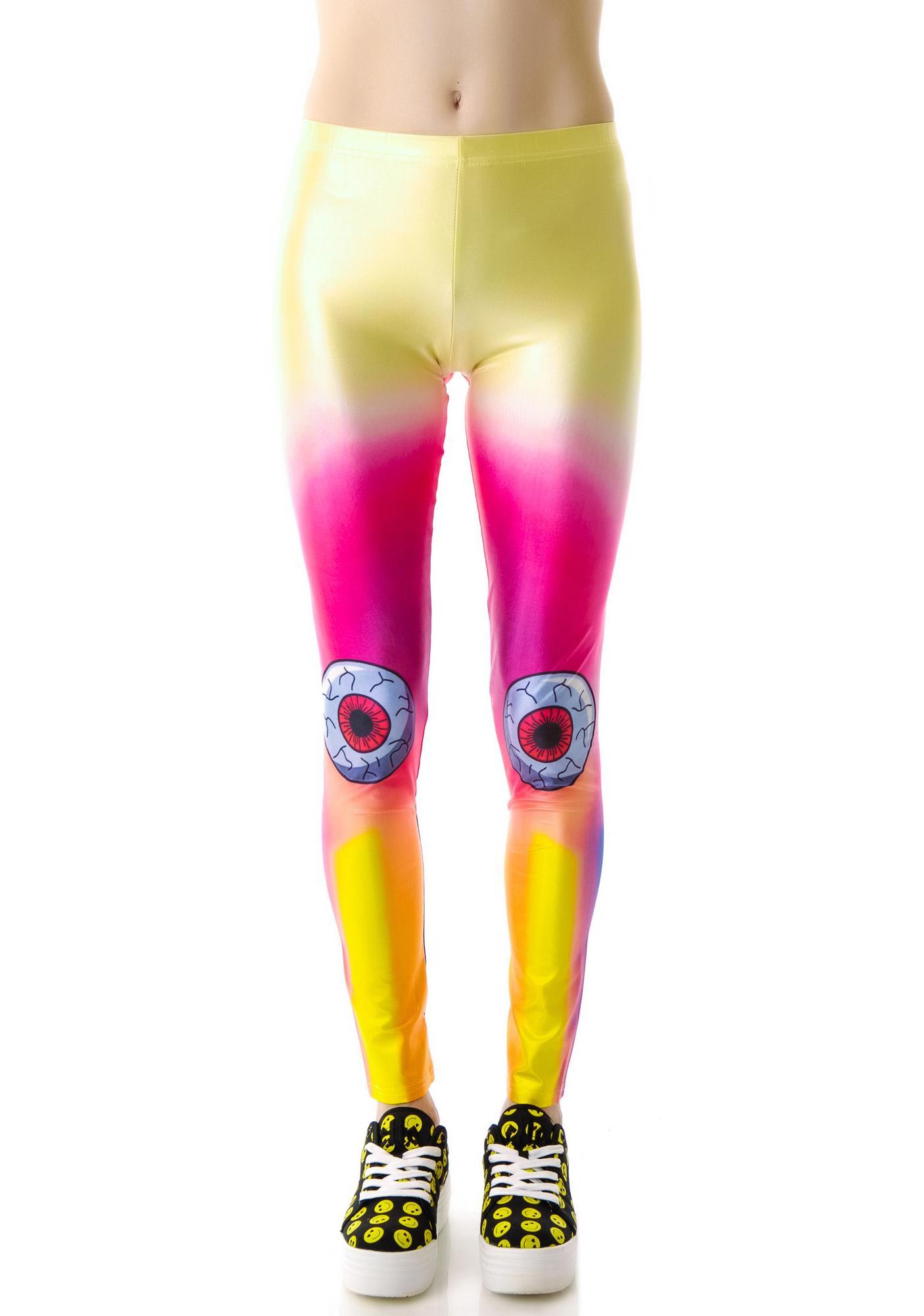 Eye Dyed Leggings