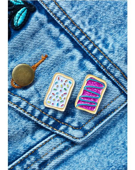 Pop Tart Pin Set