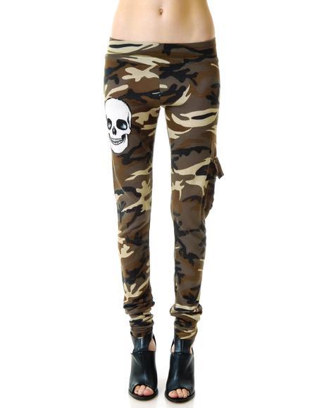 Izzy Camo Cargo Pants