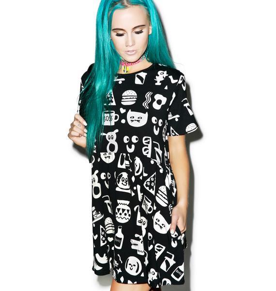 Lazy Oaf Artefact Dress