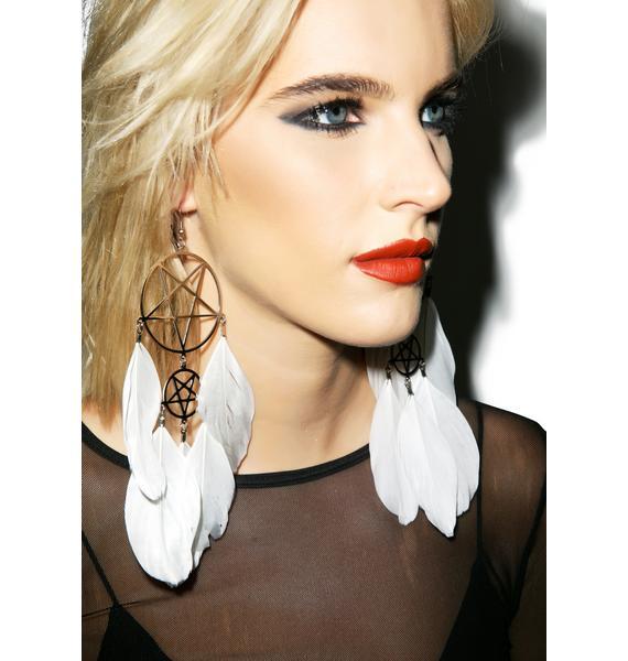 Killstar Dreamcatcher Earrings