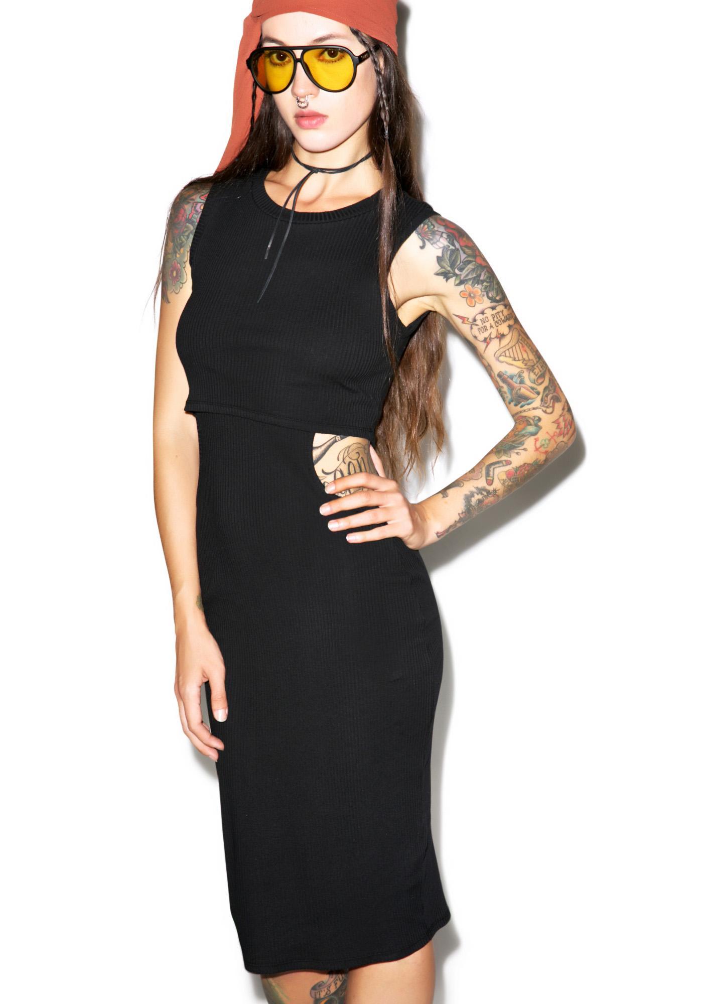 Sidechick Bodycon Dress