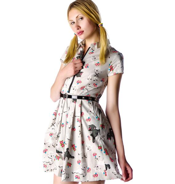 Iron Fist Lamby Pleated Dress