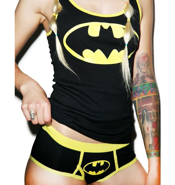 Undergirl Batman Boy Short Set
