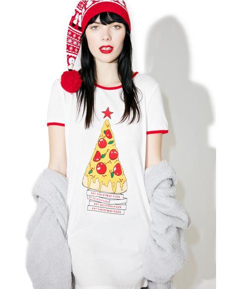 Oh Christmas Tree Tee Dress