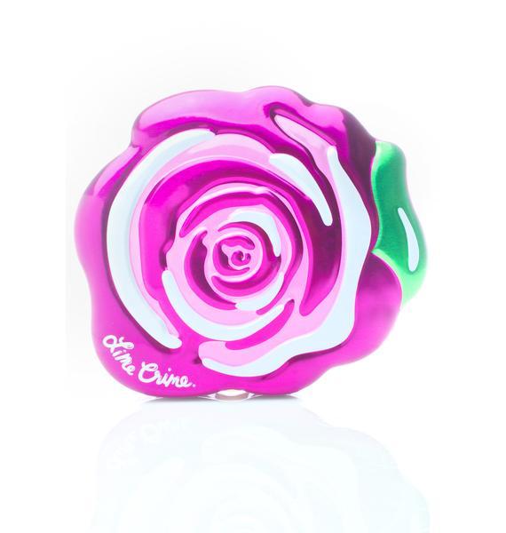 Lime Crime Fuchsia Rose Velvetine Gift Set
