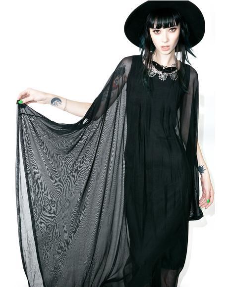 Mystic Hannah Hell Mesh Maxi