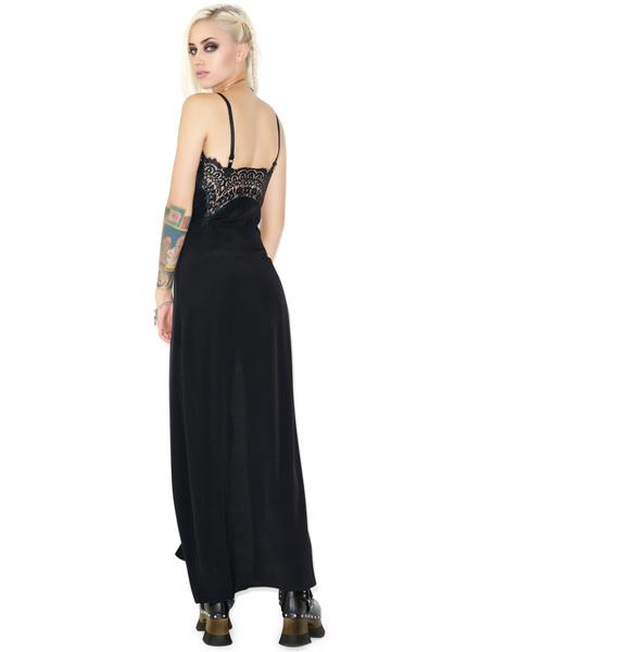 For Love & Lemons Bourbon Lace Maxi