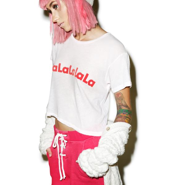 Wildfox Couture FaLaLa Middie Tee