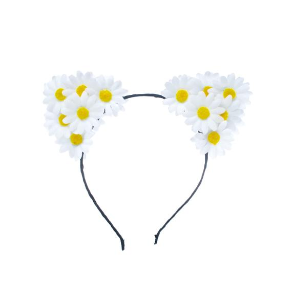 FlowerChild Revolution Carmella Daisy Cat Ears