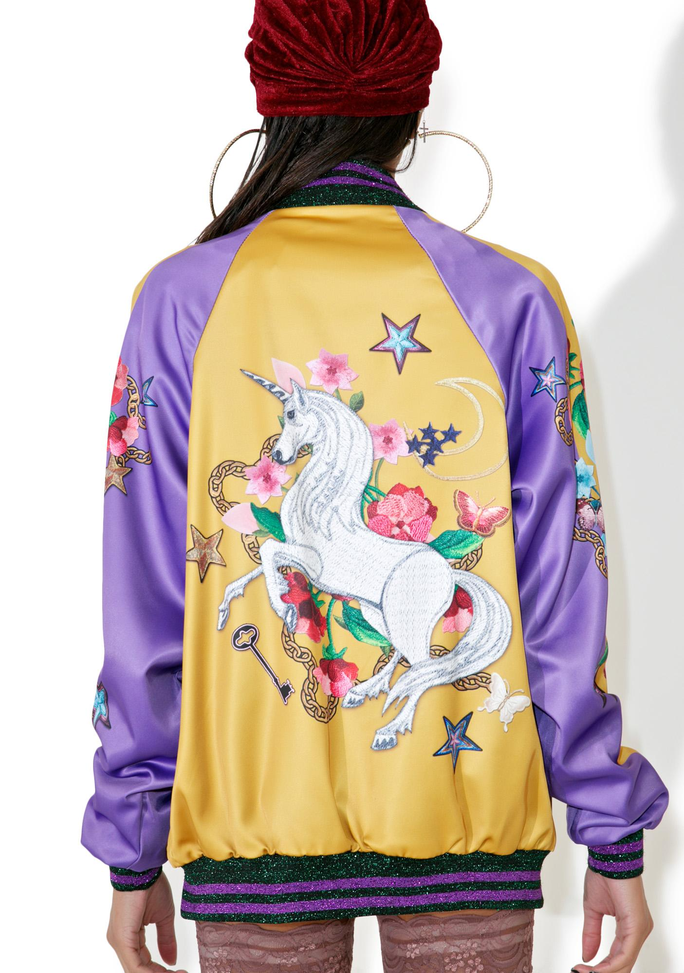 Jaded London Unicorn Souvenir Jacket