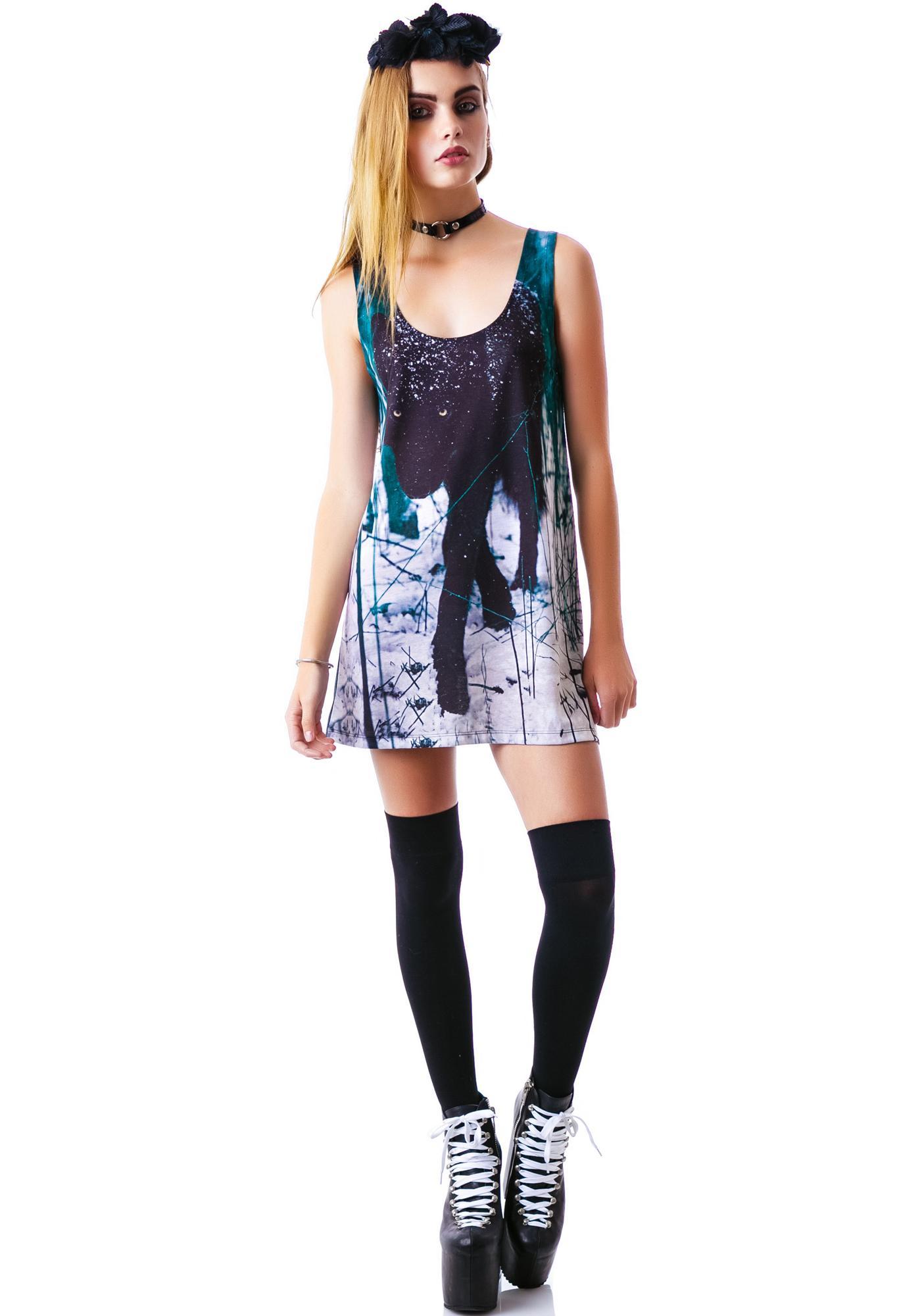 Disturbia Wolf Vest Dress