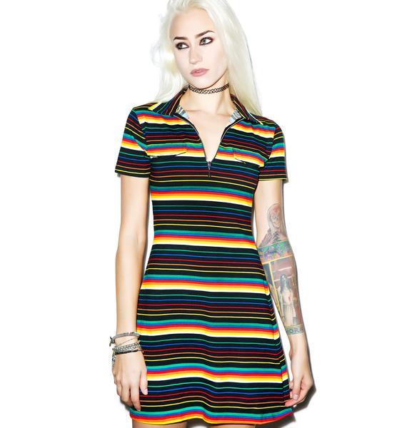 Motel Rainbow Zamora Dress