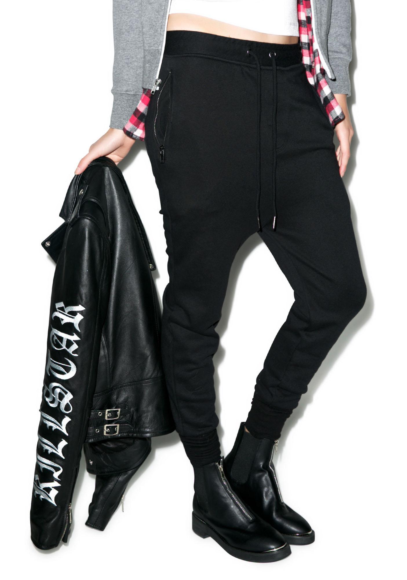 Killstar FTW Dropcrotch Sweatpants