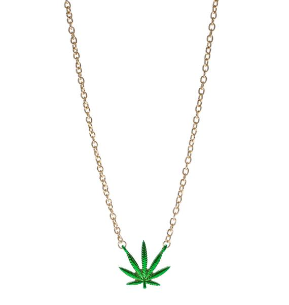 Reefer Madness Necklace