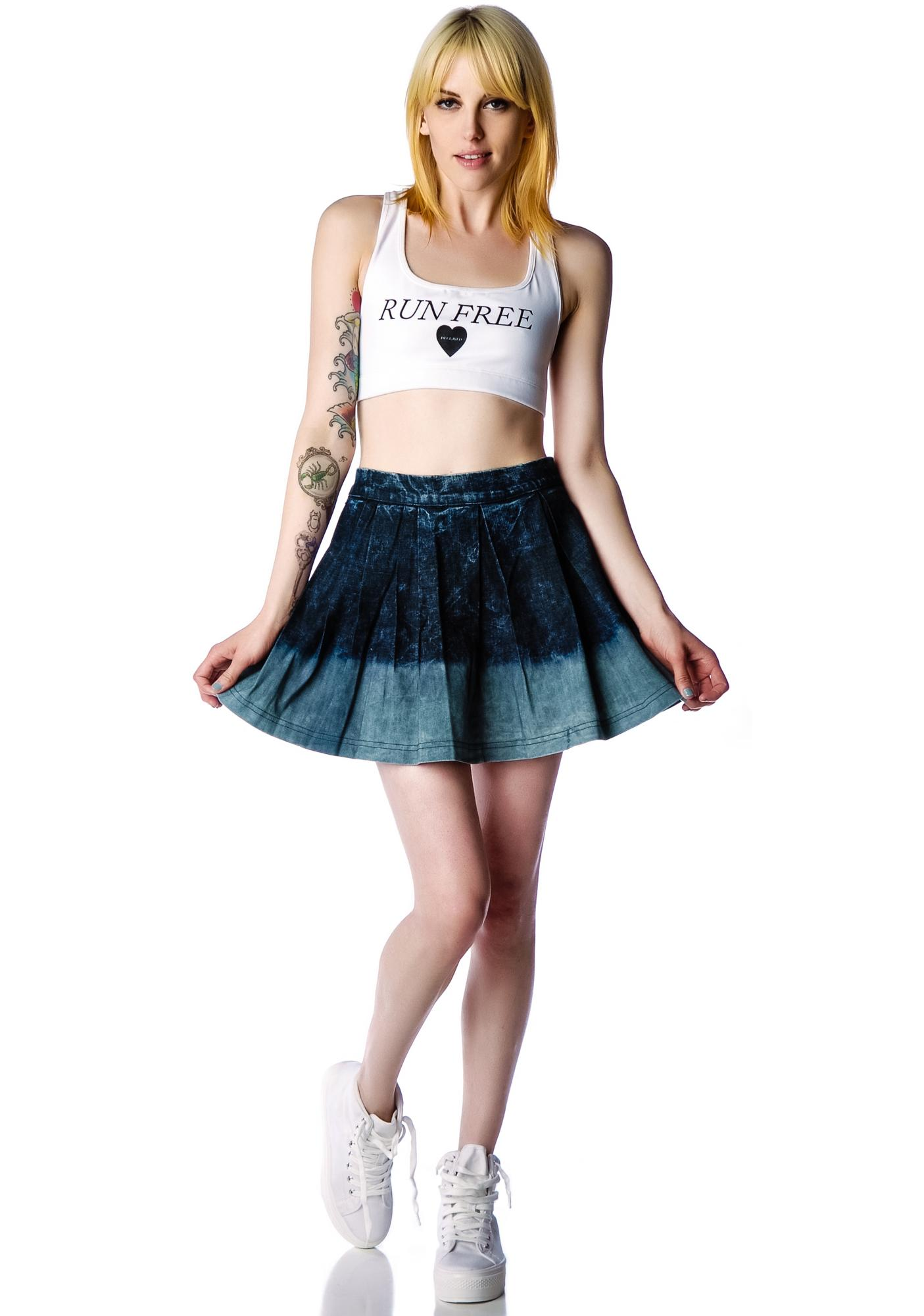 Kill City Acid Dip Skirt