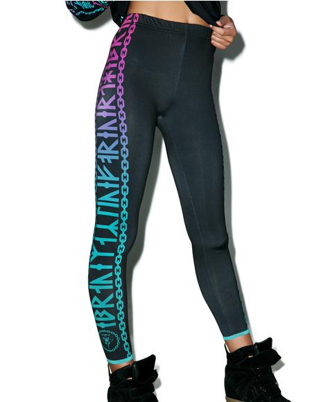 Mishka 2.0 Death Adder Chain Leggings