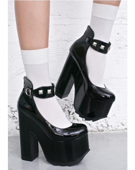 Fetish Girl Platform Heels