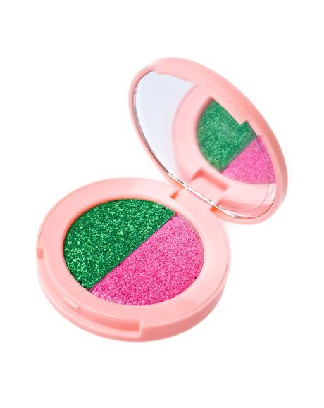 Lawn/Flamingo Superfoil Eyeshadow Duo