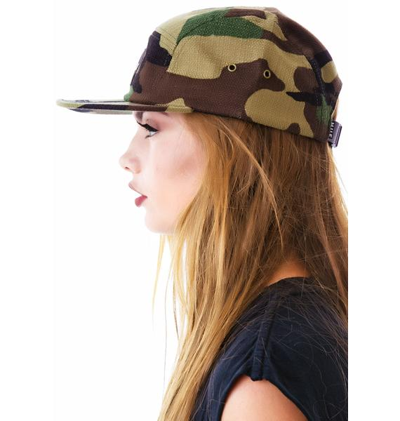 HUF Japanese Camo Volley Woodland