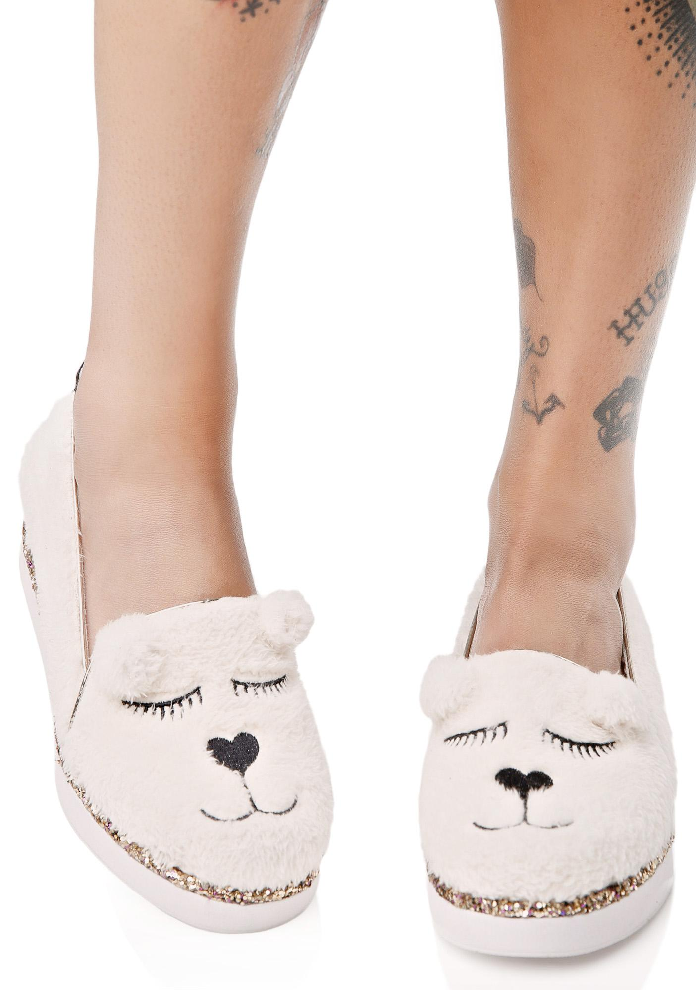 Irregular Choice Ms. Ted Flats