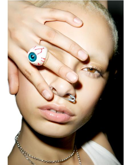Eyeball Ring - Blue
