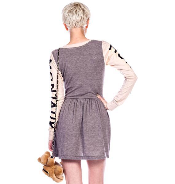 Rebel Yell Montauk Track and Field Mini Dress