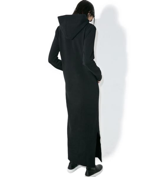 Defend Paris April Hoodie Maxi Dress