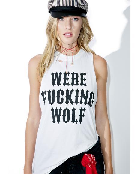 Werewolf Sleeveless Tank