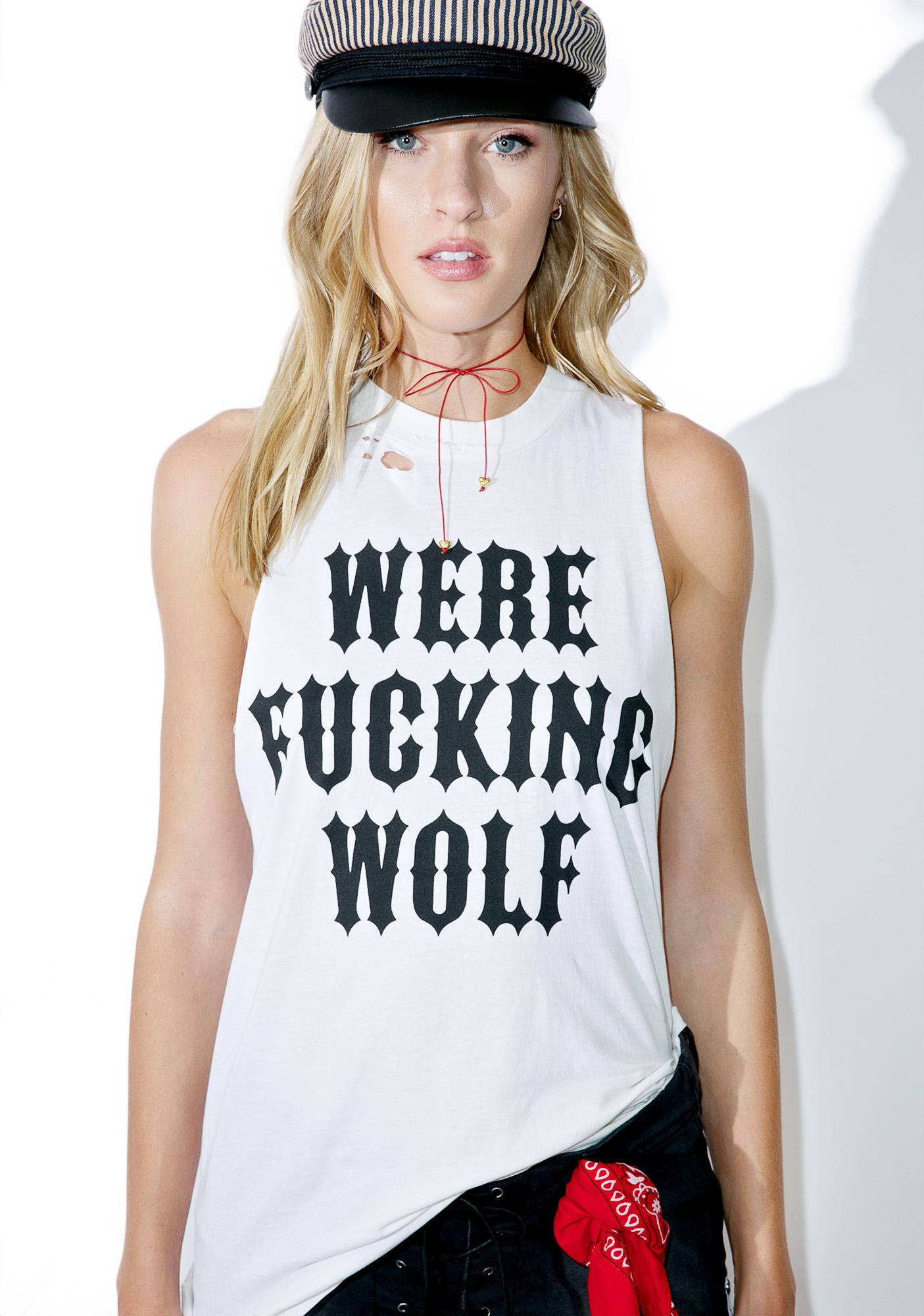 Local Boogeyman Werewolf Sleeveless Tank