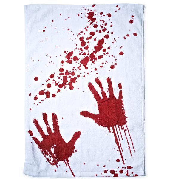 Blood Bath Hand Towel