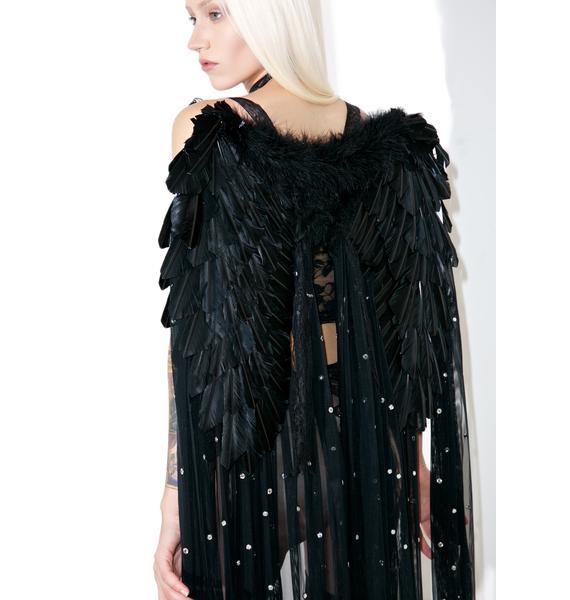Dark Glamour Full Length Wings