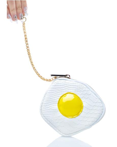 Fried Egg Coin Purse
