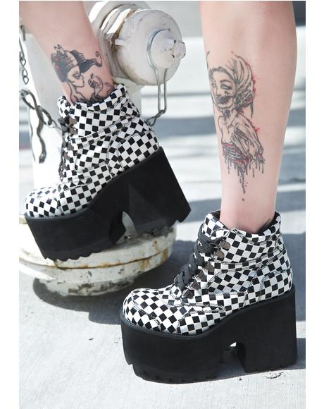 King Me Code Boots
