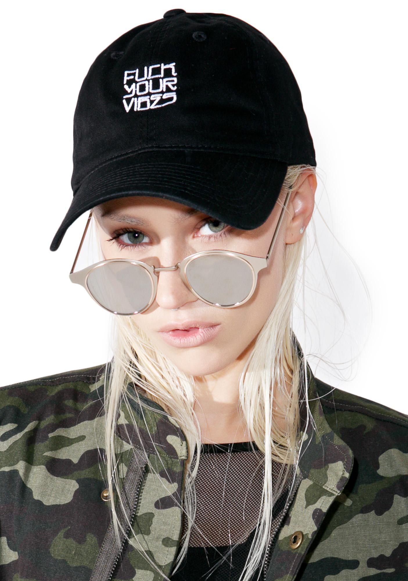 HLZBLZ Fuck Your Vibes Dad Hat