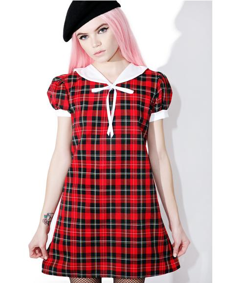 Lovely Plaid Dress