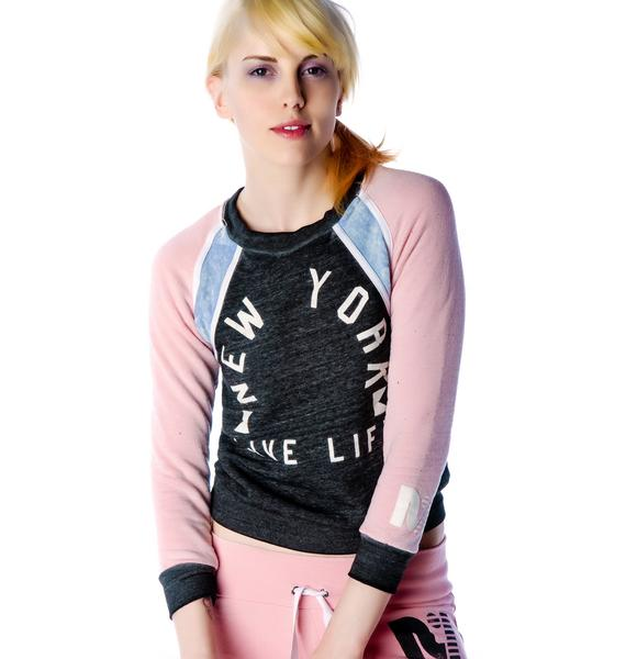 Rebel Yell Live Life Rutledge Mini Raglan