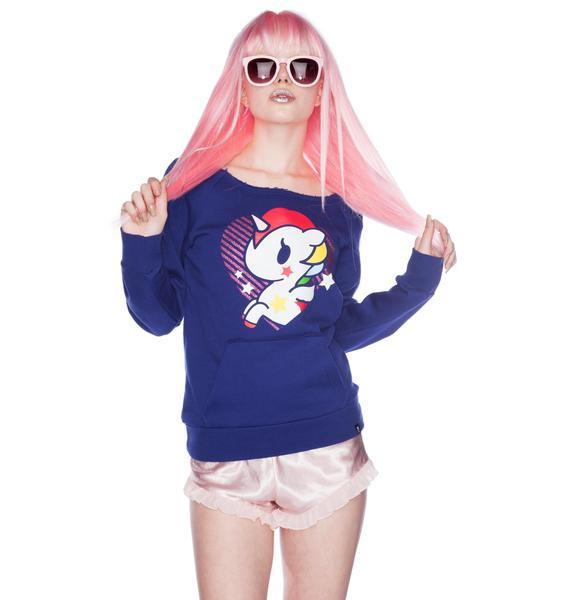 Tokidoki Glitzy Unicorn Sweatshirt