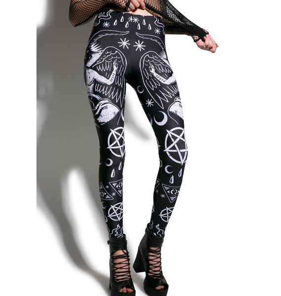Addicted To Darkness Leggings