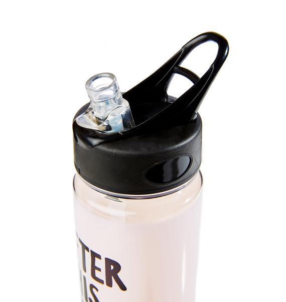 Workout Reward Water Bottle