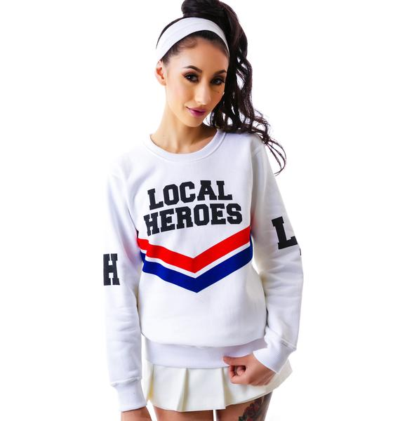 Local Heroes Cheerleader Sweatshirt
