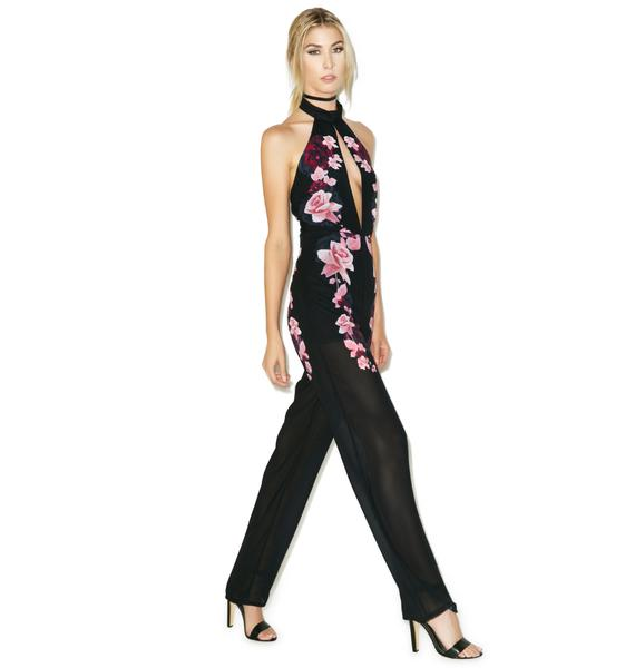 Tiger Mist Flower Crush Jumpsuit