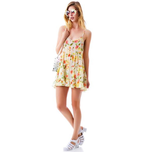 Tomorrowland Floral Ruffle Dress