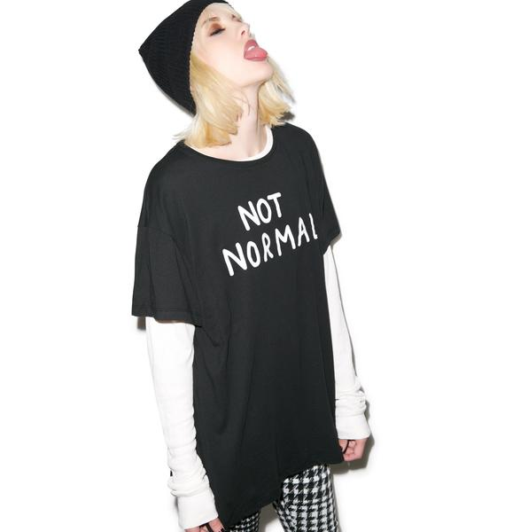Lazy Oaf Not Normal Slob Tee
