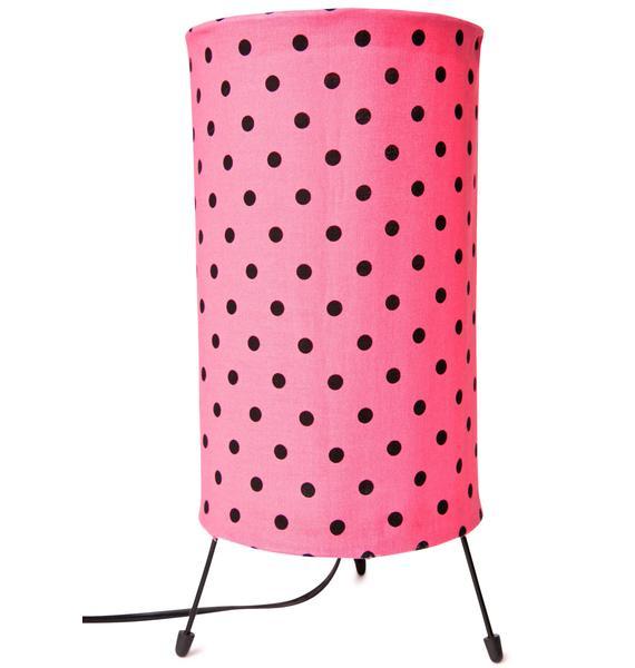 Pink Lady Lamp