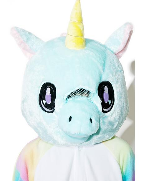 Big Fat Unicorn Head