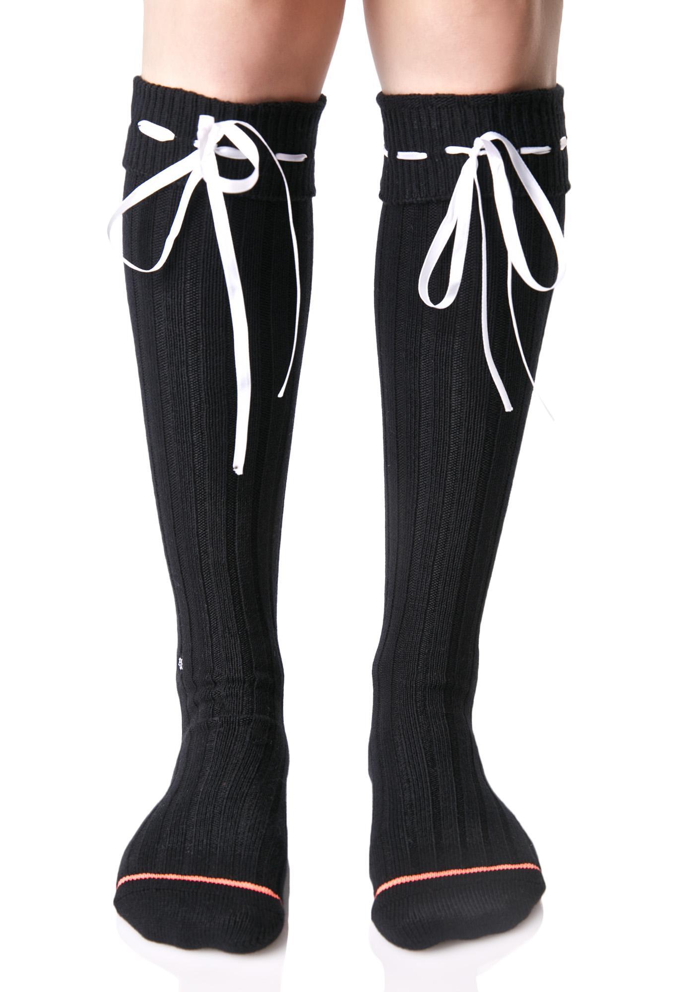 Stance Dark Dolores Knee High Socks