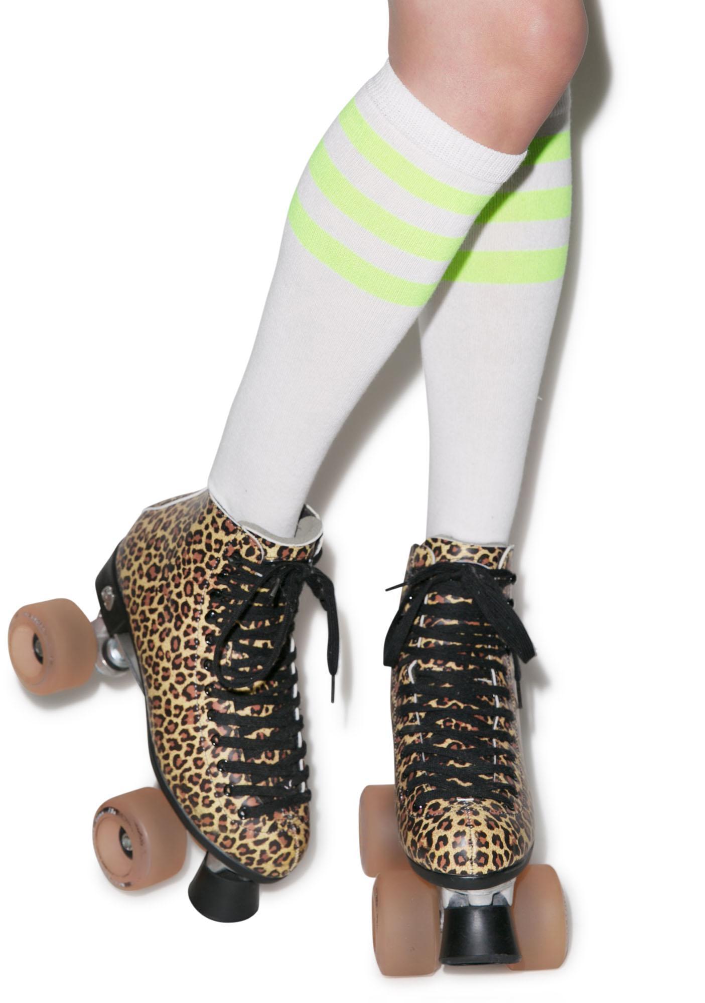 Rockin' White Stripe Socks