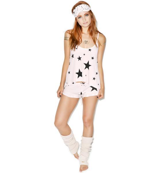 Wildfox Couture Disco Star Cami Sleep Set